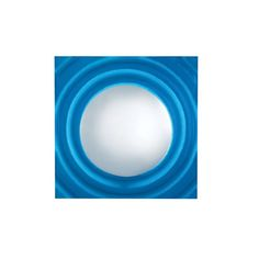 Jesco Lighting WS294 Bonbon 1 Light Wall Sconce Chrome / Blue Indoor Lighting Wall Sconces