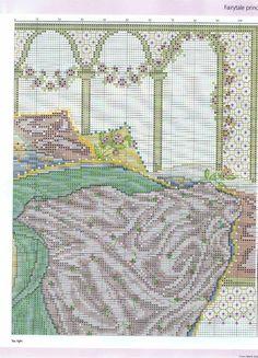 Sleeping Beauty (Joan Elliott) From Cross Stitch Gold 2012 4 of 6 Cross Stitch Angels, Cross Stitch Bird, Cross Stitch Charts, Counted Cross Stitch Patterns, Cross Stitch Designs, Cross Stitching, Cross Stitch Embroidery, Stitch 2, Needlework