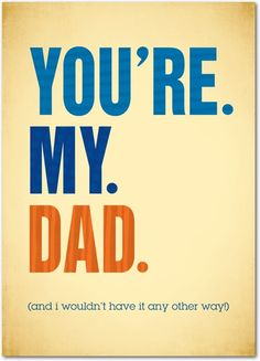 Simply put. #FathersDay Treat.com