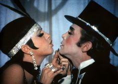 Liza Minnelli and Joel Grey in Cabaret