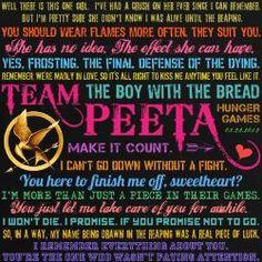 Team Peeta Quotes
