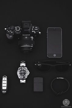 watchanish:  All black watch essentials from Nikonisty incl. Rolex DeepSea SeaDweller.