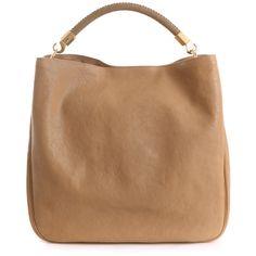 Yves saint laurent bags BEIGE ($1,640) ❤ liked on Polyvore featuring bags, handbags, tote bags, borse, bolsas, purses, beige, laurent, saint and yves