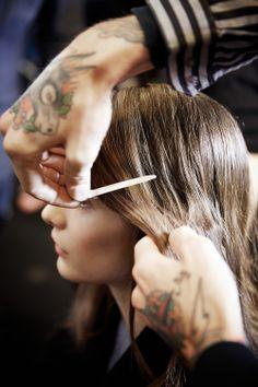 Paris Fashion Week F/W Show: Carven Hairstylist : James Pecis © Thibaut de Saint Chamas / Firstview L'Oréal Professionnel Fashion Week, Paris Fashion, L'oréal Professionnel, Carven, Hair Styles, Beauty, Hair Plait Styles, Hair Makeup, Hairdos