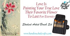 Synthetic Paintbrush Set: Nylon Brushes for Acrylic, Oil & Watercolor Painting. Quality Student Artist Brushes for Beginners & Fine Art Painters. Hobby, Art & Craft Painting Supplies, Handmade in USA. Tan Paint, Artist Brush, Love Valentines, Wall Treatments, Amazon Art, Diy On A Budget, Sewing Stores, Kids Education, Paint Brushes