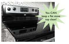 Have you ever wondered how to clean a flat stove top? If you clean it often and use the right tools, your stove is easy to keep clean. Flat Top Stove, Clean Stove Top, Diy Cleaning Products, Cleaning Solutions, Cleaning Hacks, Power Clean, Clean Up, Stove Top Cleaner, Handy Tips