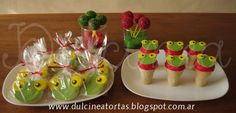 Cookies, heladitos y cake pops Sapo Pepe