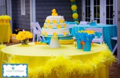 Duck Baby Shower Ideas {5 Themed Parties}