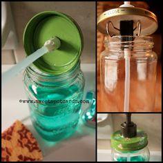 The Sweet Spot: DIY Mason Jar Soap Dispenser