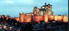 Castillo y Basílica de la Vera Cruz. Caravaca de la Cruz. Murcia. España.