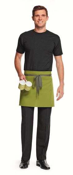 Favorite Need a Christmas hospitality uniform? Buy red festive waiter  UR59