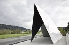 bus stops pop up all over Austrian town - Architecten De Vylder