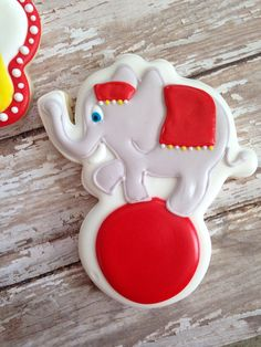 Circus Cookies by SweetCBakeShop on Etsy