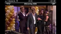 Ballonpilaar Breed Rond RTL4 Goede Tijden, Slechte Tijden
