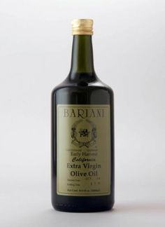 BARIANI CALIFORNIA EARLY HARVEST EXTRA VIRGIN OLIVE OIL - 1000 ML (33.8FL.OZ.) #Bariani