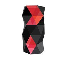 perfume bottle design by Polina Makarova, via Behance