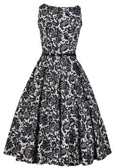 Glamorous Black Hepburn Dress - £40, Um, with black flats and movie star glasses? Yes please!