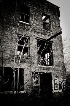 Detroit City Gas Company. Station B. Demolished.
