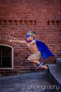 superhero photo shoot - superheroes must JUMP and fly through the air
