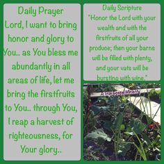 Daily Scripture and Prayer #atruegospelministry