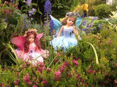 Sindy fairies in the garden