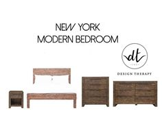 New York Bedroom Collection by LH Imports. Made from Reclaimed Wood