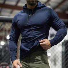 5ded097692de Fashion Mens Sport Casual Loose Plain Long Sleeve Hoodie – Lolayalls Hoodie  Brands, Sports Activities