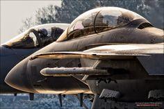 Eagle Drivers - McDonnell Douglas Boeing F-15E & F-15C Eagles at RAF Lakenheath