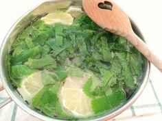 Rýmovníkový sirup (recept) - ideální na dochucení čaje Lettuce, Spinach, Vegetables, Food, Fitness, Lemon, Syrup, Recipies, Essen