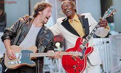 Springsteen, Lenny Kravitz, Mick Jagger... las estrellas del rock lloran la muerte de Chuck Berry