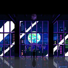 Moon and Universe - 디지털 아트, 일러스트레이션