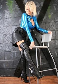 Almost safe for work for Latex, Boots, and Glove lovers.