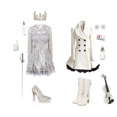 """""""Weiss Schnee-RWBY"""" by conquistadorofsorts on Polyvore"""