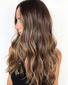 Brown Hair Balayage, Brown Hair With Highlights, Brown Blonde Hair, Blonde Highlights, Bayalage Light Brown Hair, Balayage Hair Brunette Long, Caramel Highlights, Dark Blonde, Black Hair