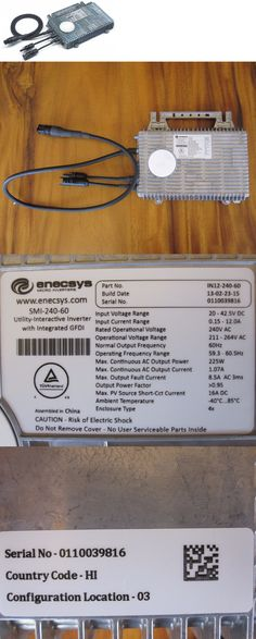 Solinba 1000w Pure Sine Wave Grid Tie Power Inverter DC2256v to