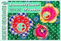 bienvenido colorido: Summerflower - Freebie