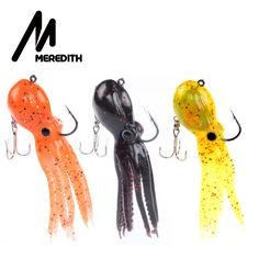 Fishing Lures Meredith FISHING long tail soft lead Octopus fishing lures Retail ** This is an AliExpress affiliate pin. Click the VISIT button to enter the AliExpress website Sea Fishing Tackle, Best Fishing Lures, Fishing Kit, Fishing Supplies, Bass Fishing, Fishing Rods, Isco, Octopus, Rockfish