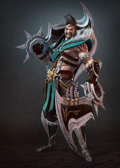 ArtStation - League of Legends _Draven, euginnx _Wu