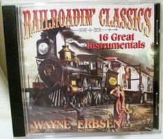 Railroadin-Classics-CD-By-Wayne-Erbsen-1997-Instrumental-Mountain-Instruments