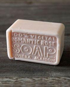 vegetal, romantic rose soap-riviera maison