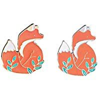 Hat and Jacket Cool Punk Decoration for Backpack 20 Pieces Enamel Lapel Pin Set Mixed Cute Animal Brooches