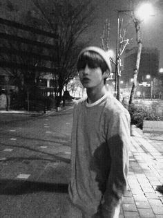 Tae Tae || V || BTS || black and white