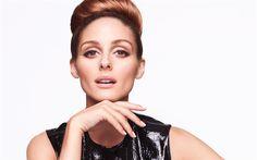 Download wallpapers Olivia Palmero, 4K, American model, beautiful woman, portrait