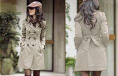 Long Button Winter Coat