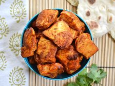 Tandoori chicken bites are little spicy nuggets of Indian delight!