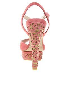 Enlarge KG Hibiscus T Bar Platform Sandals
