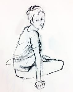Quick Sketch, Sketches, Drawings, Illustration, Painting, Art, Art Background, Painting Art, Kunst