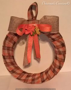 Christman's Creations: Thanksgiving Wreath
