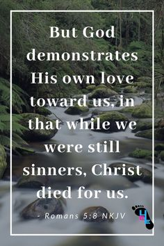 The good news of Romans is a powerful tale of love for humanity. He died. Catholic Quotes, Biblical Quotes, Spiritual Quotes, Bible Quotes, Scripture Verses, Bible Scriptures, Quick View Bible, Spiritual Inspiration, Quotes About God