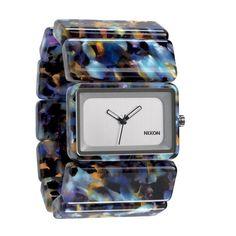 Nixon Damen Armbanduhr VEGA A726 1116 (Watercolor Acetate)